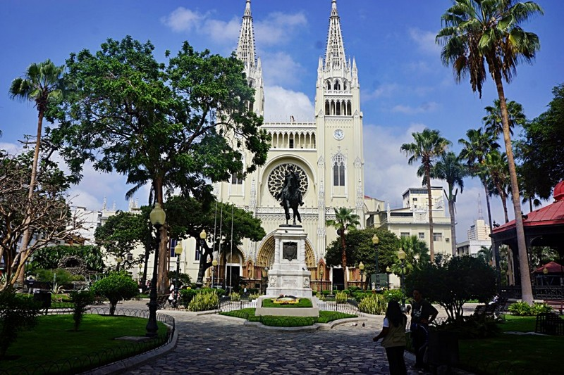 Cathedral in Guayaquil Ecuador