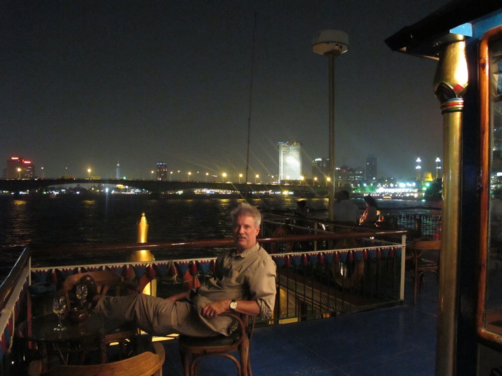 Cruising the Nile River Cairo Egypt