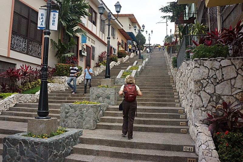 444 stairs of Las Penas neighborhood Guayaquil Ecuador