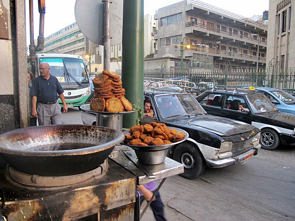 Falafels for sale in Cairo