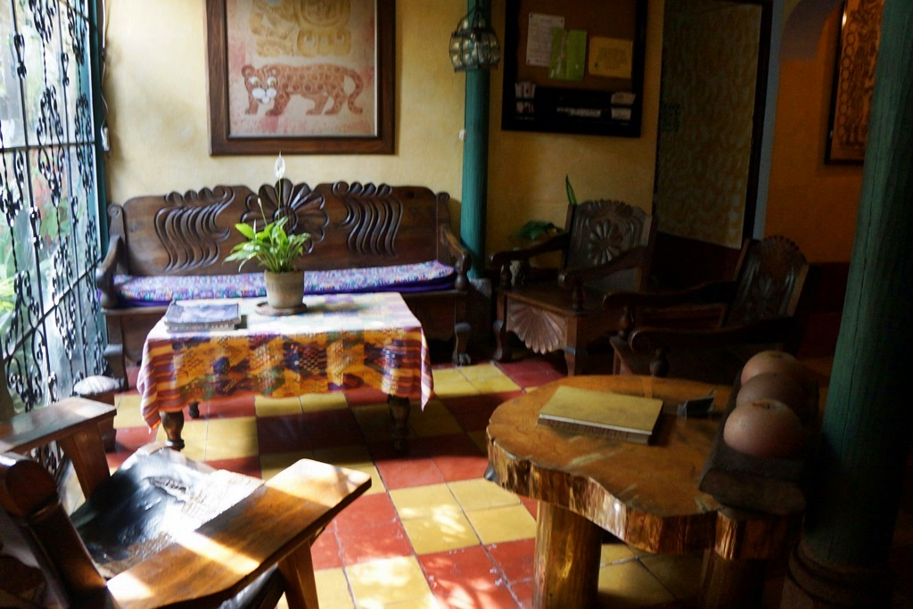 Posada Belen guest house in Guatemala City