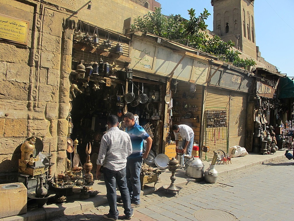 Adventure travel cairo egypt burgess adventures for Shopping in cairo