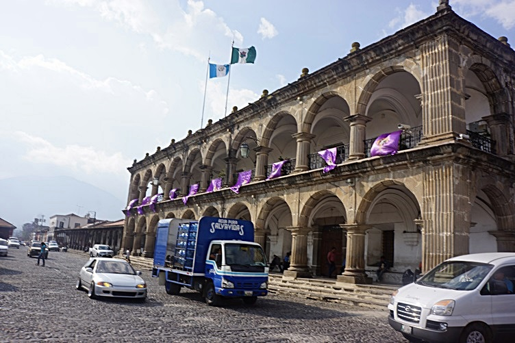 Historical Building in Antigua Guatemala