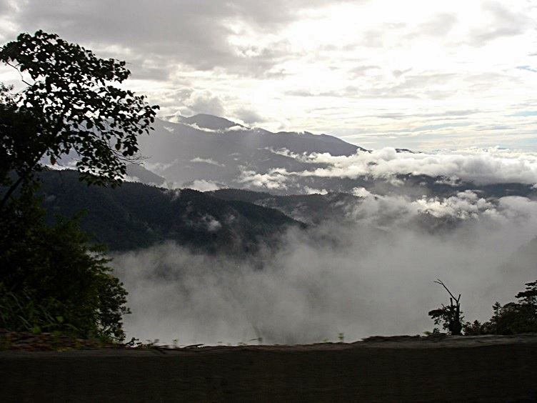 Clouds and Mountains Costa Rica