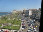 View of Downtown from Transit Hostel - Alexandria Egypt