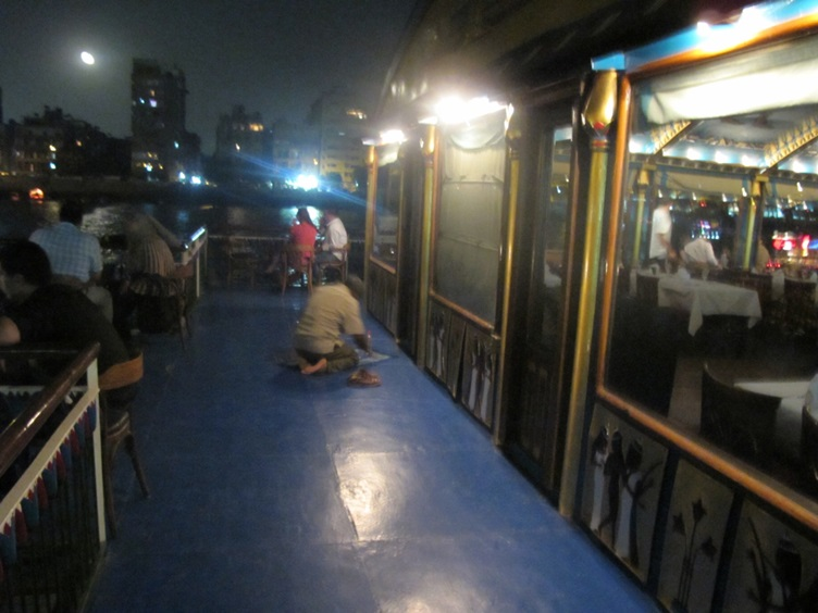 Man Praying on Nile River Cruise