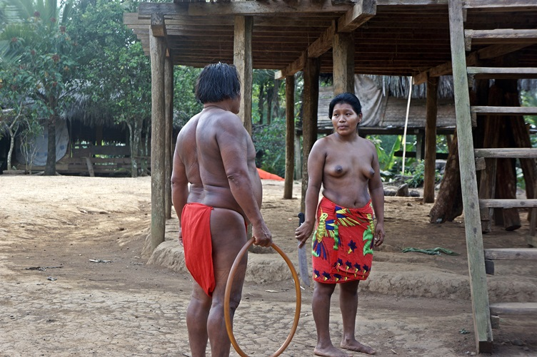 Chief at the Embera Village Panama