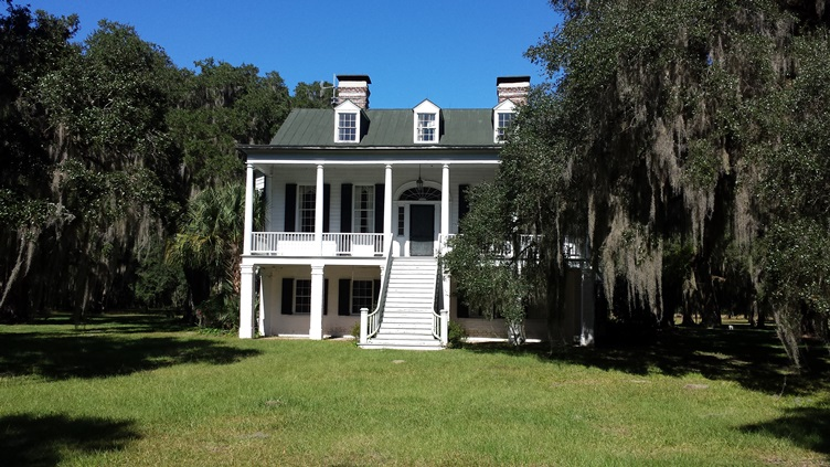 Plantation House at Ace Basin