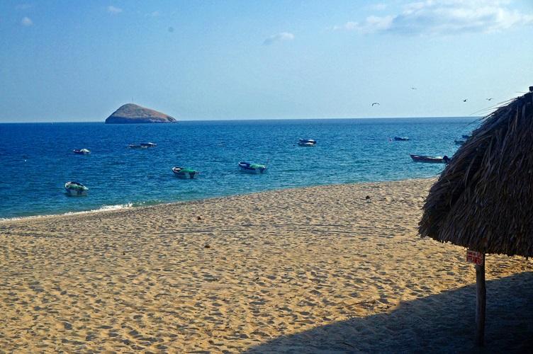 Beach At Santa Clara Panama Pacific Coast