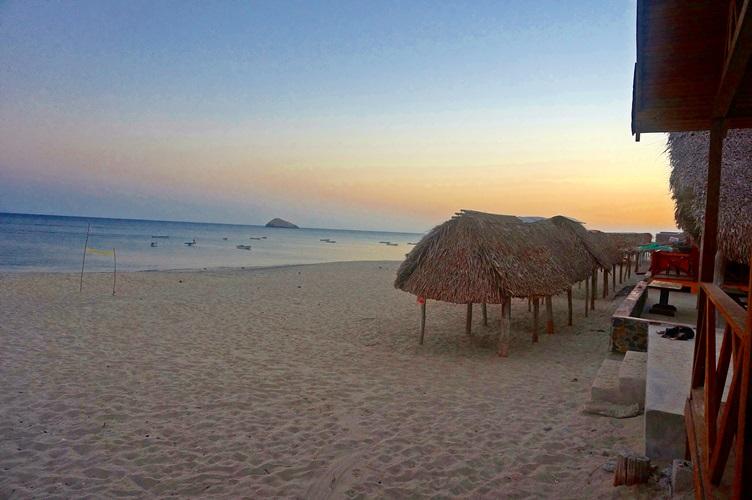 Tiki Huts At Las Veraneras Restaurant And Cabanas Santa Clara Panama